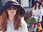 Did we miss something? Julianne Moore celebrates Mother's Day by pushing mystery baby in a stroller