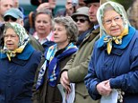 Equestrian enthusiast the Queen made another appearance at the Royal Windsor Horse Show