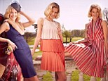 Glamour goes retro: This summer designers have been inspired by elegant looks from EVERY era