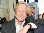 A smiling professional: Michael Douglas was pictured at the Limoland Collection launch in New York earlier in May