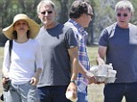 Parents of the week? Harrison Ford, Calista Flockhart and Jim Belushi flock to their sons' football matches... cheering, photographing and collecting litter