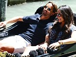 It's a hard life: Tamara Ecclestone and her fiance Jay Rutland make the most out of the Venice weather