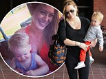 'Motherhood is a rollercoaster!' Hilary Duff shares her joys and struggles of being first-time mother to baby boy Luca