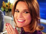 Announcement: Today co-host Al Roker shared this picture of Savannah Guthrie showing off her ring after she got engaged to boyfriend of four years Mike Feldman this weekend