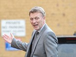 Talk it out: New Manchester United manager David Moyes praised Rooney at his Cambridge University talk