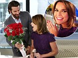 Double the joy! Bradley Cooper surprises Savannah Guthrie with flowers after she announces her engagement