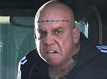 Barely recognisable: Paul Giamatti plays a mean criminal in the new Spider-Man, not at all how we have come to know him