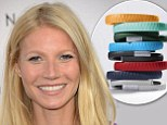 Would you let Gwyneth's bracelet run your life? Paltrow wears £99 plastic wristband which measures activity levels, vibrates if you're lazy, and advises on meal choices