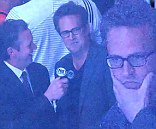 Blunder: Matthew Perry joked about his show getting cancelled on Friday