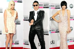 AMAs Red Carpet Photos: 2012 American Music Awards Arrivals