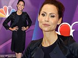 Skinny Minnie! Driver suits up for NBC Upfronts for her new show About a Boy