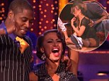 Perfect ten! Jacoby Jones and Karina Smirnoff score big on Dancing With The Stars despite pro dancer's injury threatening their performance