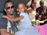 Sean 'Diddy' Combs is on double daddy duty as he hops between his 'baby mommas' on Mother's Day