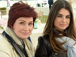 Mother-daughter bonding: Sharon Osbourne and rarely seen daughter Aimee stepped out together in Greenwich, Connecticut on Sunday