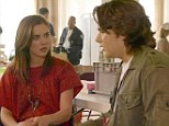 Acting debut: Prince Jackson made a brief appearance on the season finale of 90210, which aired in the US on Monday night