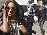Naomi Campbell gets to work on UK version of her hit show The Face with new mentors Erin O'Connor and Caroline Winberg