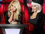 Let the tongue lashing commence! Sharpshooter Christina Aguilera will 'return to The Voice as Shakira bids farewell'