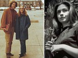 The way we were: A screenplay has been written about how Bill and Hillary Clinton met (pictured in their younger years after meeting at Yale in 1972)