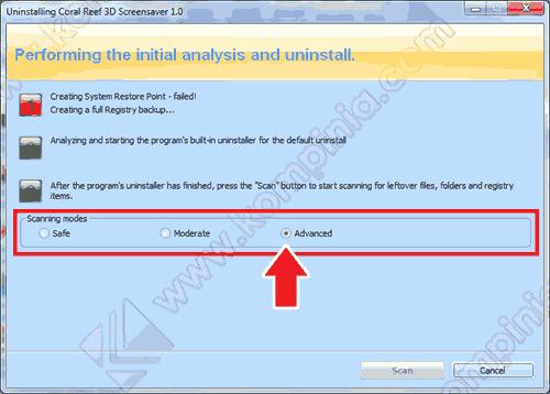 uninstall program dengan revo uninstaller