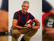 Vegan firefighter on his