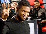 Peace out: Usher, shown in March, won't be returning as a judge on The Voice next season due to a film commitment