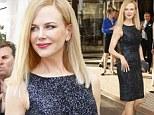 Actress and jury member Nicole Kidman a