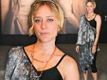 Chloe Sevigny at the Absolut Elyx vodka launch party in New York