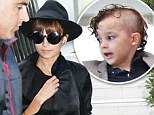 Nicole Richie and Joel Madden's son Sparrow has updated his mowhawk