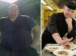 The ultimate test of willpower? Morbidly obese chef bins his XXXXXXL T-shirts after losing 22 STONE... and goes back to work in the kitchen