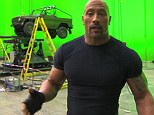Behind the magic: Dwayne 'The Rock' Johnson is seen giving away some of the secrets behind the Fast And Furious 6 action sequences in an exclusive behind-the-scenes look at the film