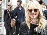 Emma Stone and Andrew Garfield spotted going for a stroll in New York City