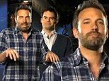 'It really happened?' Bill Hader cannot believe Argo is a true story in Ben Affleck Saturday Night Live promo