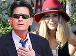 Back in court: Lawyers for Charlie Sheen, shown earlier this month with ex-wife Denise Richards, were headed back in court on Wednesday as they seek to keep his twins with Brooke Mueller under the custody of Richards