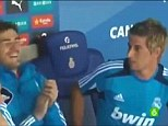 What are you doing here: Coentrao is ribbed by Real Madrid teammates as the full extent of his error is revealed