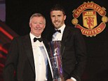 The best: Carrick was awarded Player of the Season despite tough competition