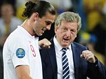Welcome back: Andy Carroll has been rewarded with a place in the Roy Hodgson's England squad