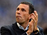 On his way out? Brighton have suspended manager Gus Poyet