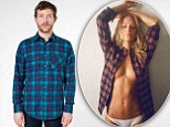 American Apparel branded 'sexist' over 'sleazy' ads for unisex shirt with half-naked women in g-strings... but fully-clothed men