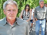 A cross-country dad! Harrison Ford proves he really is a quietly dedicated father, as he jets to New York and treats his daughter Georgia to lunch