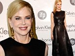 Where is your whip? Nicole Kidman transforms into a fashion dominatrix in all leather dress at Cannes Film Festival