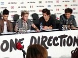 We're going worldwide: One Direction announced plans for a global tour at Wembley Stadium on Thursday