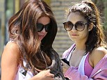 So in sync! Selena Gomez and Vanessa Hudgens break out a sweat in style during day of exercise and pampering