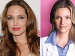 Angelina Jolie and her surgeon, Dr Kristi Funk