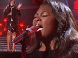 Clearing the final hurdle! Candice Glover remains favourite after outshining Kree Harrison in American Idol final