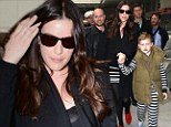 Jailhouse rock! Liv Tyler and son Milo show their stripes in matching outfits as they hit up Cannes Film Festival