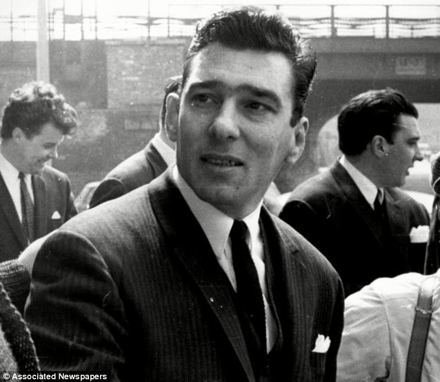 Notorious: Gangster Reggie Kray was thought to have created the paintings in 1986 while serving life in prison