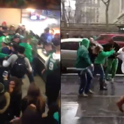 _Videos: Times Square McDonald's Brawl, And More Bad Behavior From St. Patrick's Day