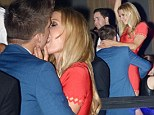 Put him DOWN, Paris! Ms Hilton doesn't care who's watching as she enjoys a full on PDA with boyfriend River Viiperi in Cannes club