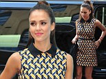 Sign city! Jessica Alba is mobbed by fans as she autographs copies of her eco-friendly lifestyle book