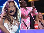 Diva off! Mariah Carey refuses to join her fellow judges in a standing ovation after J-Lo's performance on American Idol Final